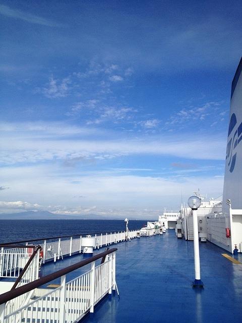 2012年11月1日太平洋フェリーいしかり苫小牧港入稿前写真